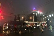 Центр Воронежа перекрыли из-за ЧП у здания мэрии