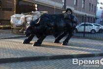 Установивший в Воронеже «быка с Уолл-стрит» экс-бизнесмен попал в список Forbes