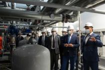 Губернатор посетил крупнейшую стройплощадку ГК «Агроэко» под Воронежем
