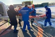 Пациента с ковидом впервые транспортировали в Воронеж на вертолете