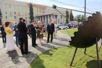 На Университетской площади Воронежа открыли сквер Ученых