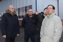 Японская делегация проверила готовность к запуску мусоросортировочного завода ОАО «Экотехнологии» под Воронежем