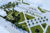 Мэрия Воронежа выбрала подрядчика для детской площадки в Советском сквере