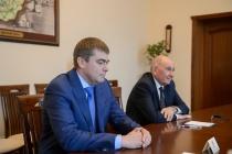 Воронежский губернатор дал напутствие преемнику Виктора Шевцова в Лискинском районе
