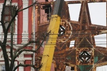 В Воронеже аварийные звезды с проспекта Революции восстановят по аналогии с баркалоном «Меркурий»