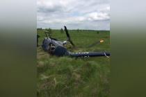 Под Воронежем снова упал вертолет