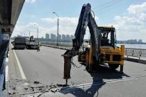 В Воронеже начался ремонт разбитых швов Северного моста