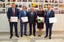 Руководители воронежского «Домостроительного комбината» удостоены наград Совета Федерации