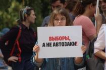 Воронеж поддержал Москву пикетом солидарности