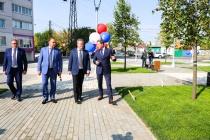 Мэр Воронежа высоко оценил сотрудничество с бизнесом при благоустройстве городских территорий