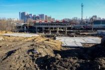 В Воронеже на виадуке на 9 Января начался перенос ЛЭП
