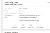 Воронежский губернатор наконец решился на страницу «Вконтакте»