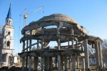 В Воронеже на месяц позже завершена консервация Ротонды