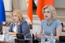Неля Пономарева передала воронежскую Общественную палату Наталии Хван