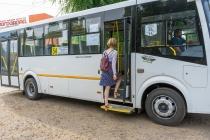 В Воронеже появился городской автобус с кондиционером