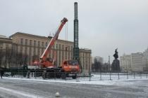 Воронежские власти предпочли не экономить на новогодней елке