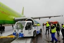 В воронежском аэропорту пострадал самолет с губернатором на борту