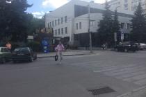 В центре Воронежа на ликвидированном пешеходном переходе сбили женщину