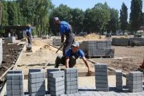 В Воронеже продолжают благоустраивать общественные пространства