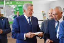 Воронежский сенатор Сергей Лукин ознакомился с ходом исполнения нацпроектов в Аннинском районе