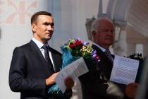 Воронежского депутата чествовали в День города