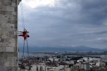 Платоновфест откроется воздушным шоу на стене гостиницы в центре Воронежа