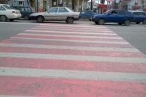В Воронежской области обновят «зебры» почти за сто миллионов рублей