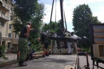 В Воронеже поставили памятник предпринимателю  Вильгельму Столлю
