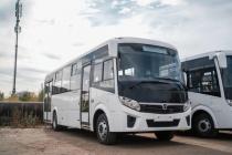 Пять новых автобусов вышли на маршруты № 54 и 10А в Воронеже