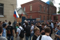 Митинг сторонников Навального в Воронеже закончился задержаниями