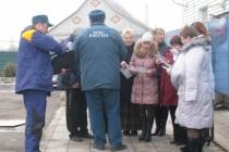 В Новогодние праздники к воронежцам приходят спасатели