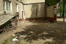Брошенный воронежской УК «Стройтрест 2П» дом пережил коммунальную аварию