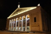 Фасад здания воронежского оперного театра отремонтируют за 22,4 млн рублей