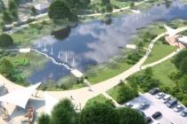 Местный ИП благоустроит территорию Перламутрового озера в Воронежской области