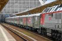 Тематический поезд Минобороны остановится в Воронеже 10 мая
