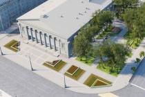 В Воронеже на благоустройство сквера у оперного театра направят 38,1 млн рублей
