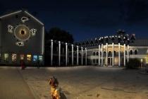 Мэрия показала эскиз подсветки центра Воронежа