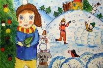 Сводные счета воронежцев в январе украсят детские рисунки