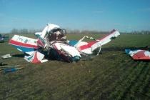 В Липецкой области разбился самолет аэроклуба воронежского бизнесмена