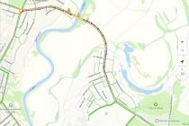 Мост между Семилуками и Подклетным в Воронеже сковали внезапные строительные работы