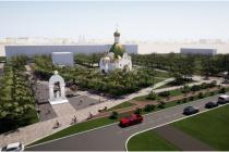 Местная компания выиграла тендер на благоустройство сквера у строящегося храма под Воронежем
