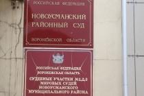Доводы воронежской прокуратуры убедили Новоусманский райсуд