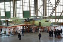 Воронежским авиастроителям привезли двигатели для нового военного транспортника