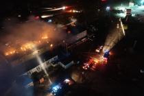 Под Воронежем ликвидировали еще два крупных пожара