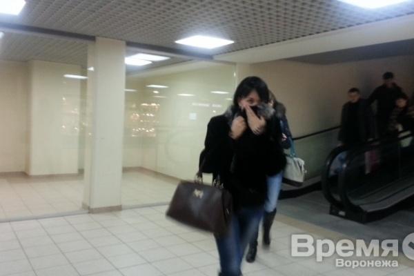 В Воронеже в ТРЦ Галереи Чижова распылили неизвестный газ