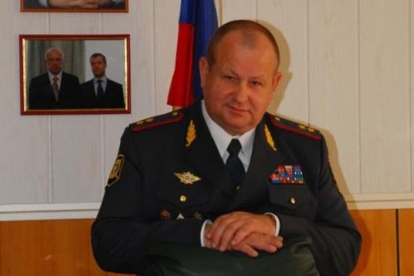 Воронежским полицейским представили нового начальника  - генерала Алесандра Сысоева