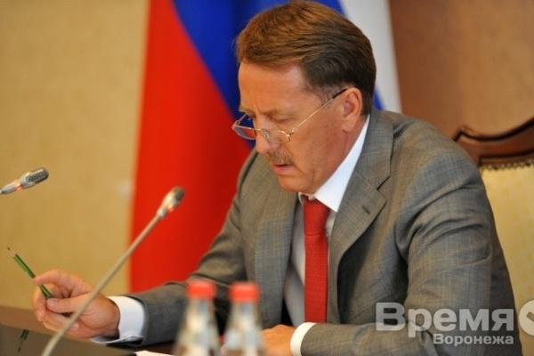 Воронежского губернатора могут допросить по делу о взятке в особо крупном размере