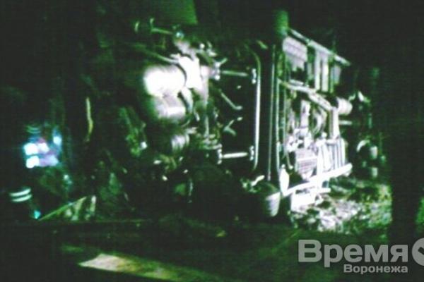 В Воронежской области опрокинулся автобус с пассажирами
