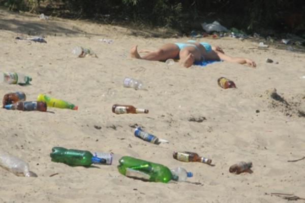 Воронежские пляжи в плачевном состоянии