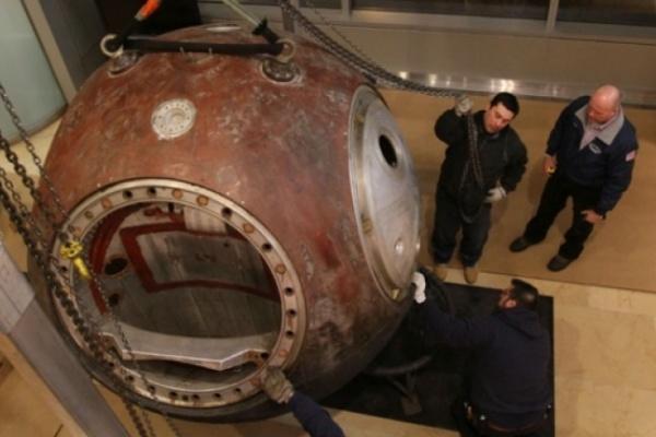 Воронежцам покажут легендрную космическую капсулу